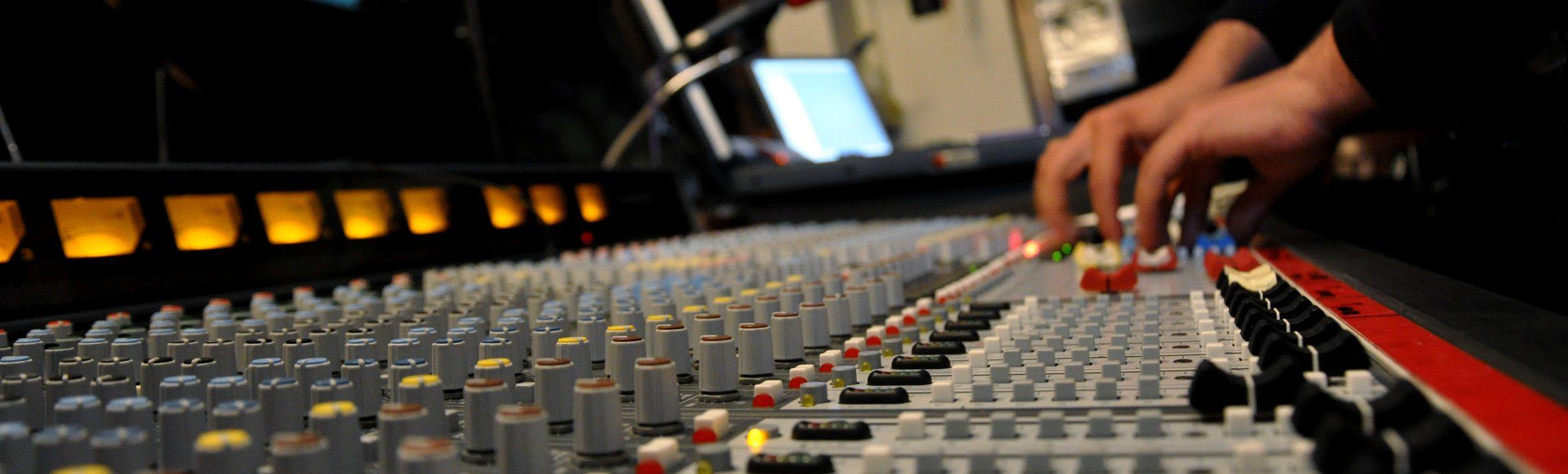 Tontechnik-Unterricht