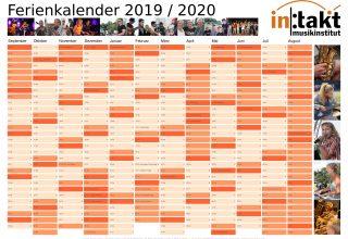 Ferienkalender 2019/2020